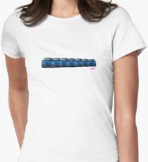 Subaru WRX STi generations - V1 Women's Fitted T-Shirt