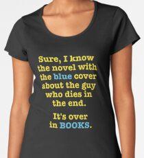 The Funny Sarcastic Librarian Women's Premium T-Shirt