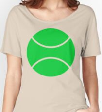 tennis ball Women's Relaxed Fit T-Shirt
