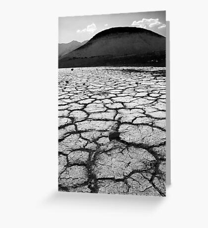Playa and Cinder Cone in Mono  Greeting Card