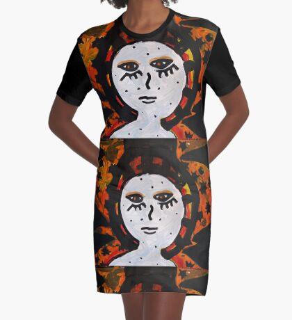 Tell Me Graphic T-Shirt Dress