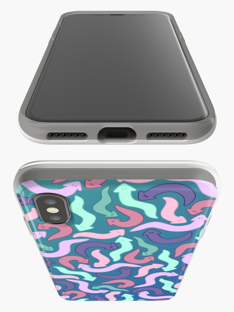 Alternate view of Wiggly Planaria  iPhone Case & Cover
