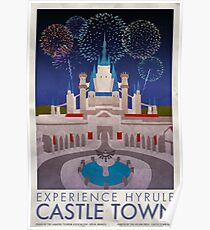 Experience Hyrule Castle Town Poster
