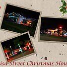 3 Christmas Houses by Jason Fewins