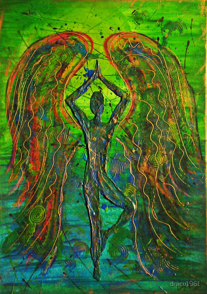 Angel - Meditation  by dracu1961