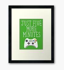 Just Five More Minutes - XB Framed Print