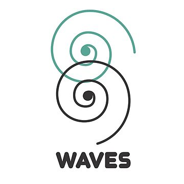 Waves t shirt by hebron