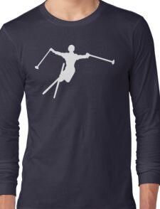 ski : silhouettes Long Sleeve T-Shirt