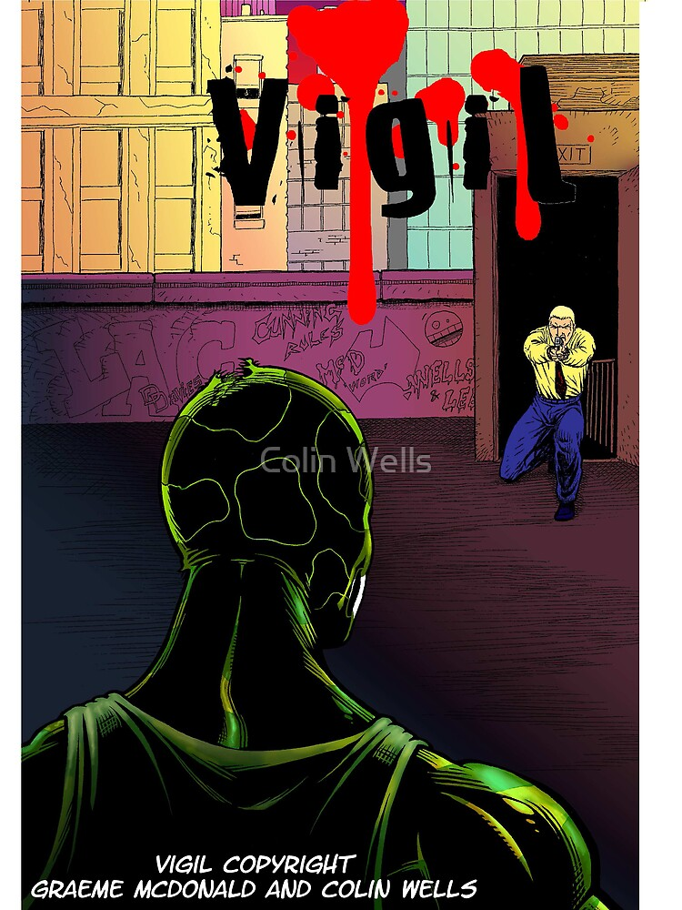 Vigil #3 Cover by Colin Wells