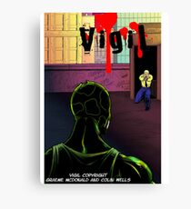Vigil #3 Cover Canvas Print