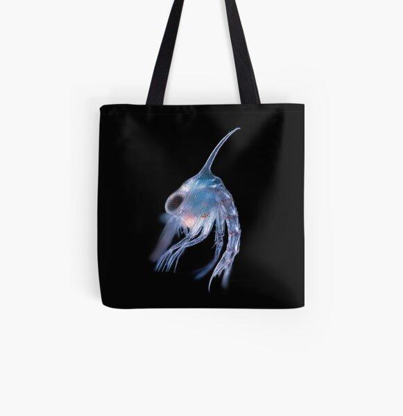 Crustacean planktonic larva All Over Print Tote Bag