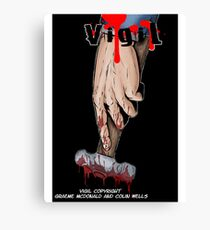 Vigil #2 Cover Canvas Print