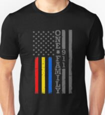 Eine Familie Feuerpolizei Dispatch Unisex T-Shirt