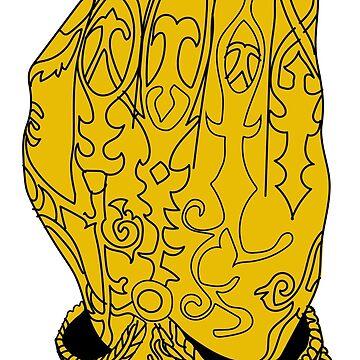 Gold Hand by KellyUgenti