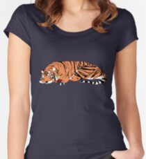 hobbes and Calvin Women's Fitted Scoop T-Shirt