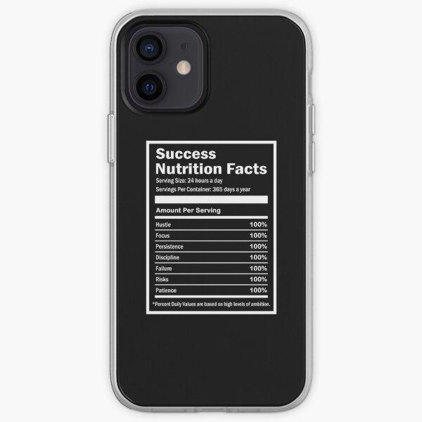 Entrepreneur Success Nutrition Facts iPhone Soft Case