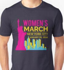 Women's March NYC January 20 2018 Unisex T-Shirt