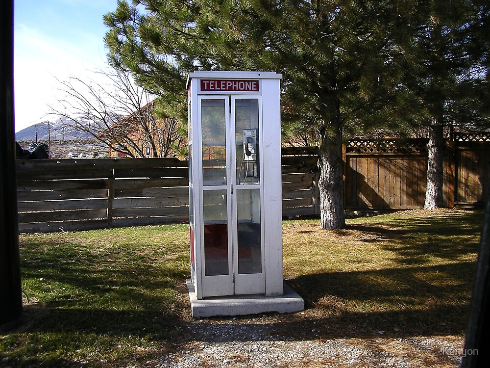 Lonely Phonebooth by Kenyon