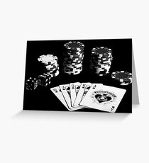 Gambling Greeting Card
