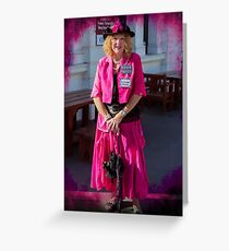 Madame Cerise Greeting Card