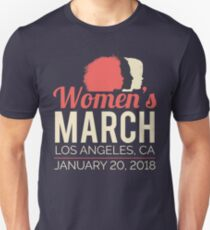 Women's March Los Angeles January 20 2018 Unisex T-Shirt