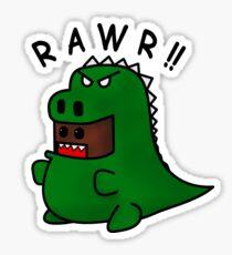 Domosaur Sticker