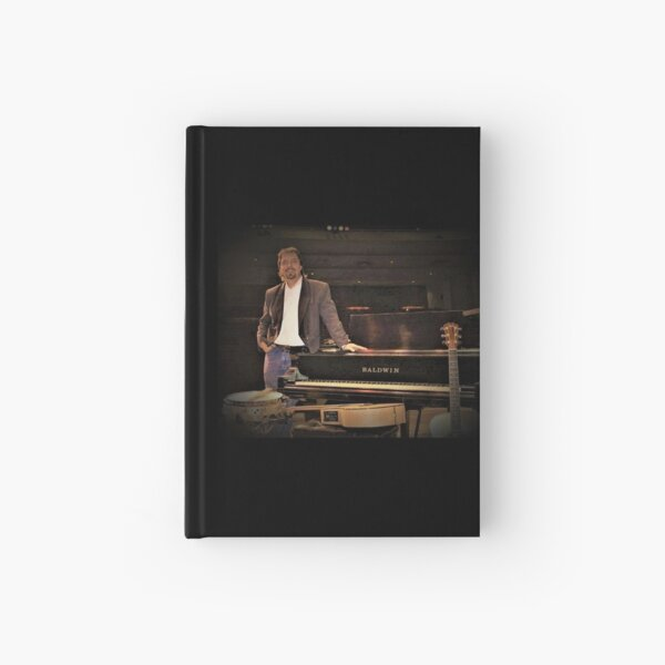 """Tony DuPuis Concert 2 Modern Pixel vibe""  Hardcover Journal"