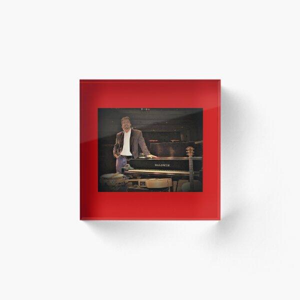 """Tony DuPuis Concert 2 Modern Pixel vibe""  Acrylic Block"