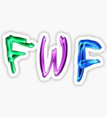 Neon FWF Sticker