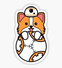 Corgi Robot Sticker