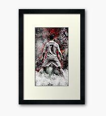 cristiano ronaldo best wallpaper Framed Print