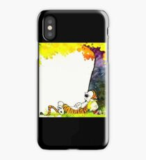 kid tiger nap iPhone Case
