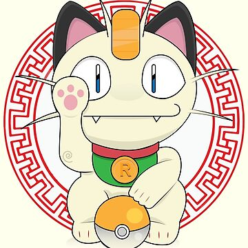 Maneki meowth by daniac