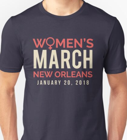 New Orleans Women's March January 20 2018 T-Shirt