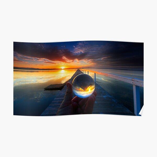 Long Jetty sunset Poster