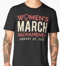 Sacramento Women's March January 20 2018 Men's Premium T-Shirt