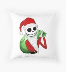 Jack as Santa Throw Pillow