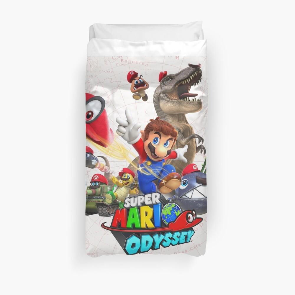 Super Mario Odyssey Funda nórdica