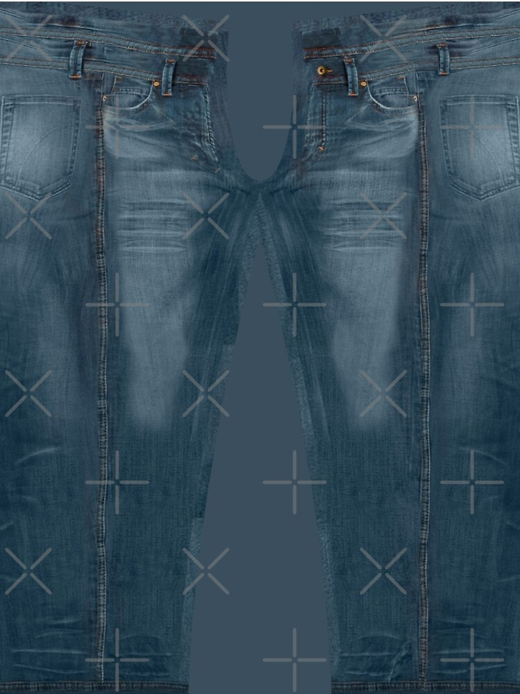 Blue Jeggings Creased by GrizzlyGaz