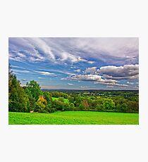 Beautiful English Countryside #2, Redhill, England Photographic Print