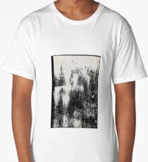 Brush Strokes Long T-Shirt