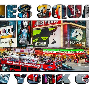 Times Square New York City widescreen version by RayW
