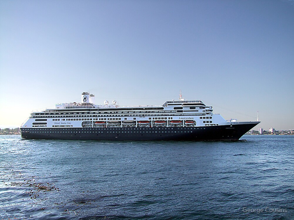 Amsterdam, Cruise Liner by George Cousins