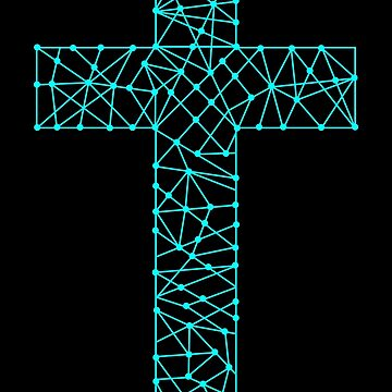 Church logo. Christian symbols. Cross of the Savior Jesus Christ by biblebox