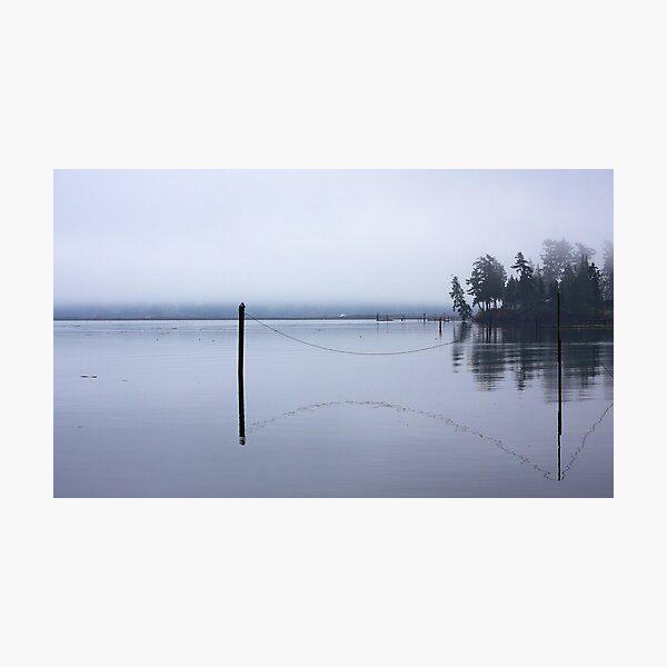 Sooke In Fog Photographic Print