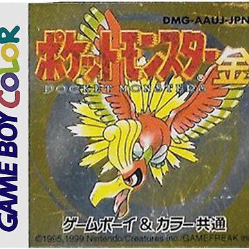 Pokemon Gold  by magdalenarosee