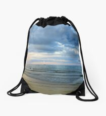 Port Douglas sunset Drawstring Bag
