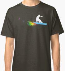 snowboard : powder trail Classic T-Shirt
