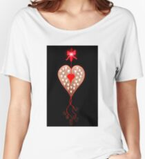 Love Hearts Women's Relaxed Fit T-Shirt