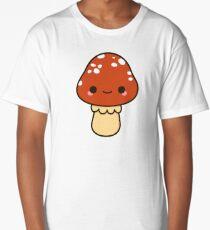 Kawaii red toadstool Long T-Shirt